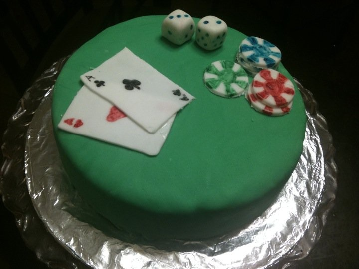 Images Of Poker Cakes