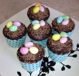 EasterEggCupcakes