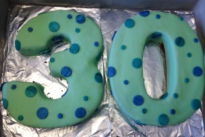 30 Birthday Cake