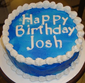 Josh Bday Cake